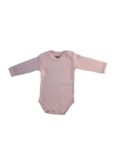 Mummy's Baby Mummy's Baby Uzun Kollu  Body  3-6 Ay Pembe Pembe